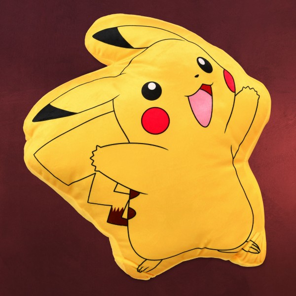 Pokemon - Pikachu Smile Kissen gelb