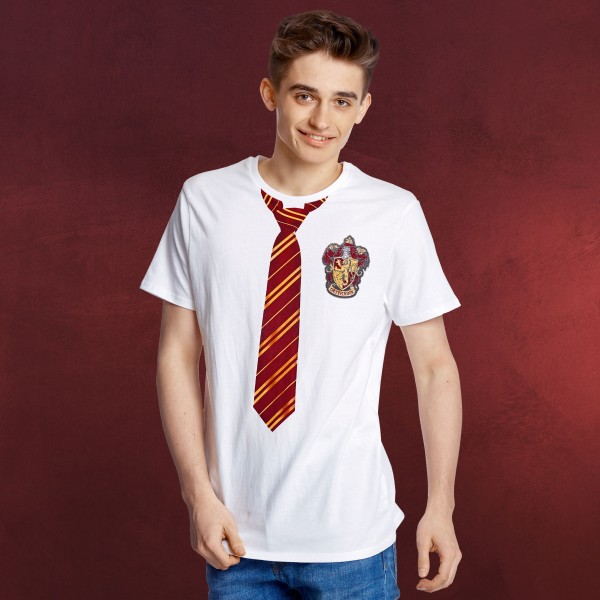 Harry Potter - Gryffindor Lookalike T-Shirt weiß