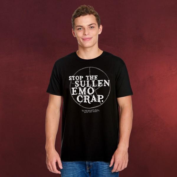 Supernatural - Stop The Sullen Emo Crap T-Shirt