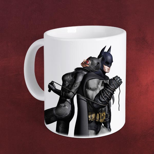 Batman Arkham City - Catwoman Tasse
