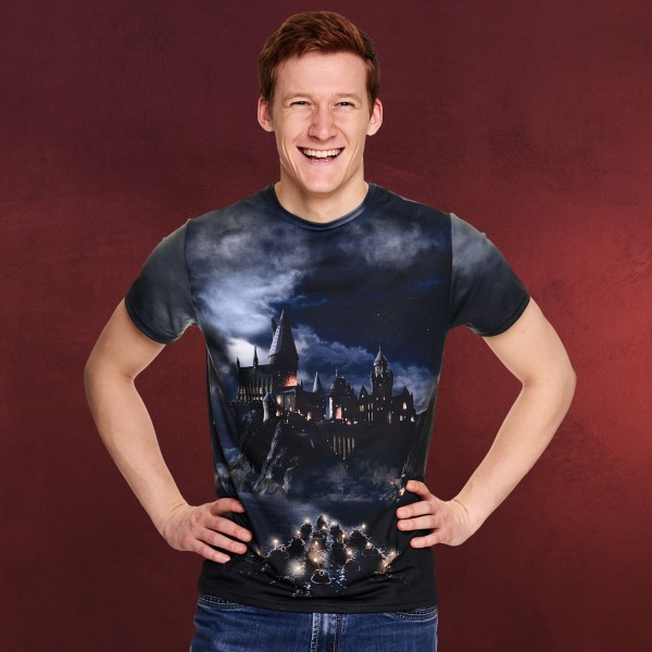 Harry Potter - Hogwarts The Magic Begins T-Shirt