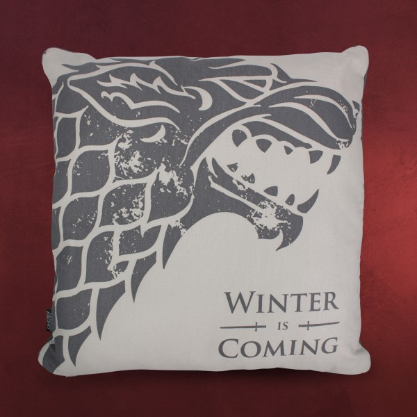 Game of Thrones - Stark Winter is Coming Kissen