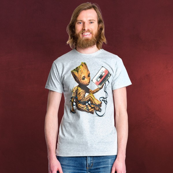 Guardians of the Galaxy - Groot Mixtape T-Shirt