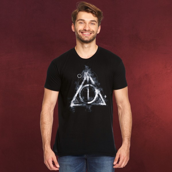 Harry Potter - Smoky Hallows T-Shirt schwarz