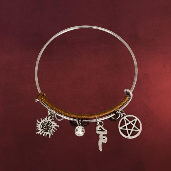 Supernatural - Symbol Charm Armreif