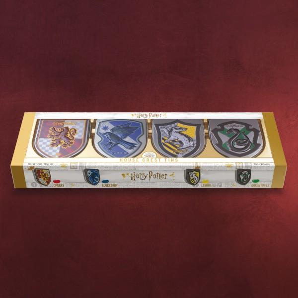 Harry Potter - Hauswappen Dosen Set mit Jelly Beans