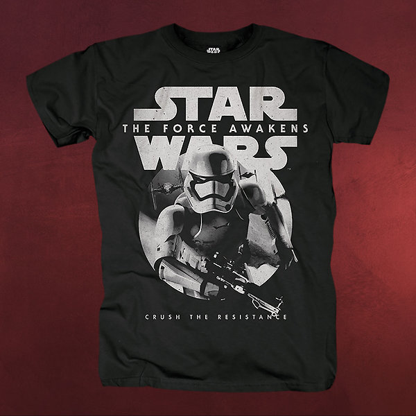 Star Wars - Trooper Attack T-Shirt schwarz