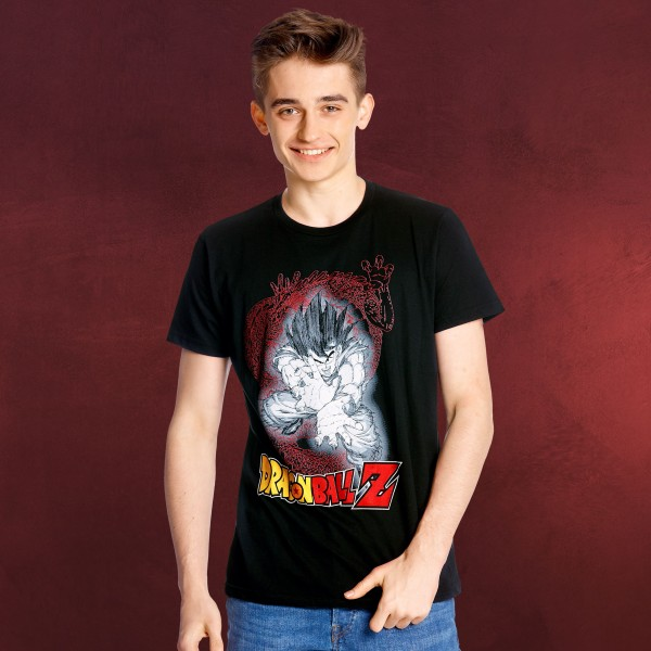 Dragon Ball - Goku Kamehameha T-Shirt schwarz
