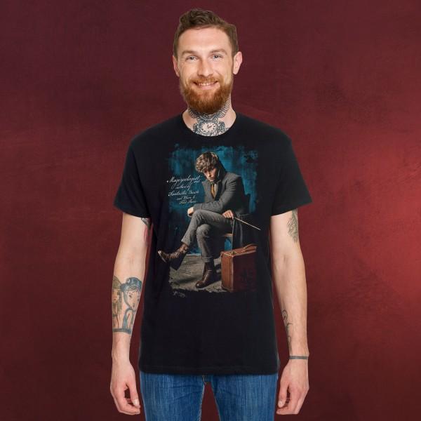 Newt Scamander Magizoologist - Phantastische Tierwesen T-Shirt schwarz
