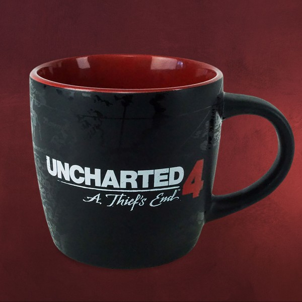 Uncharted - A Thiefs End Compass Tasse