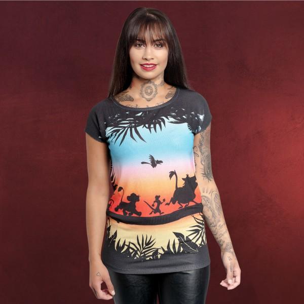 König der Löwen - Sundown T-Shirt Damen