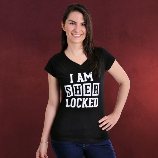 Sherlocked Girlie Shirt