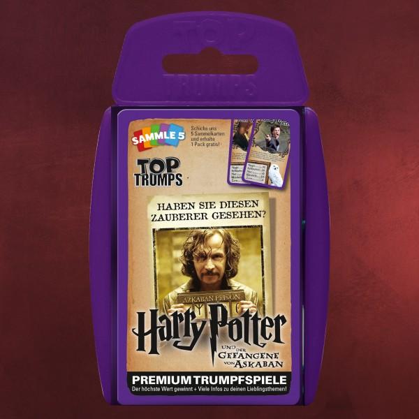 Harry Potter und der Gefangene von Askaban Top Trumps Spielkarten