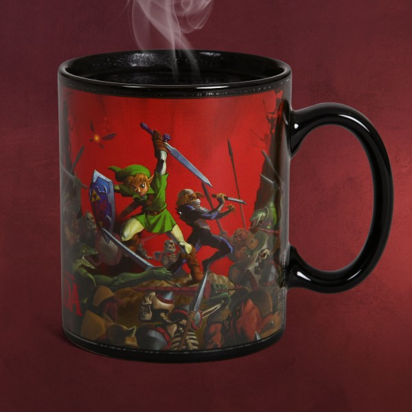 Zelda - Battle Thermoeffekt Tasse