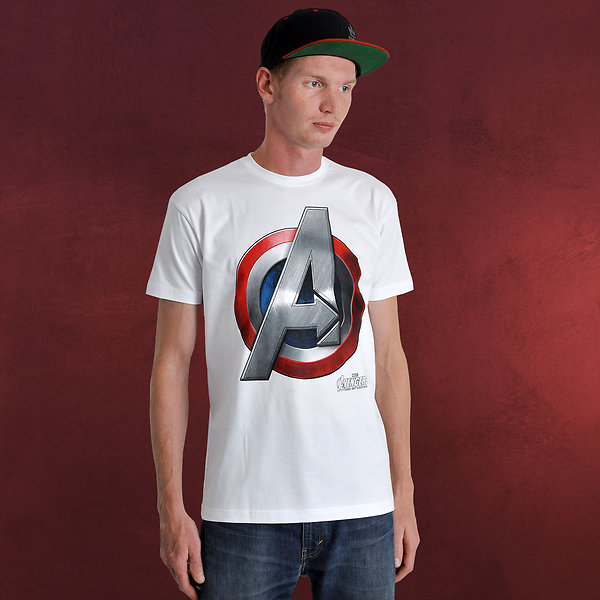 Avengers - Age of Ultron - Captain America Logo T-Shirt