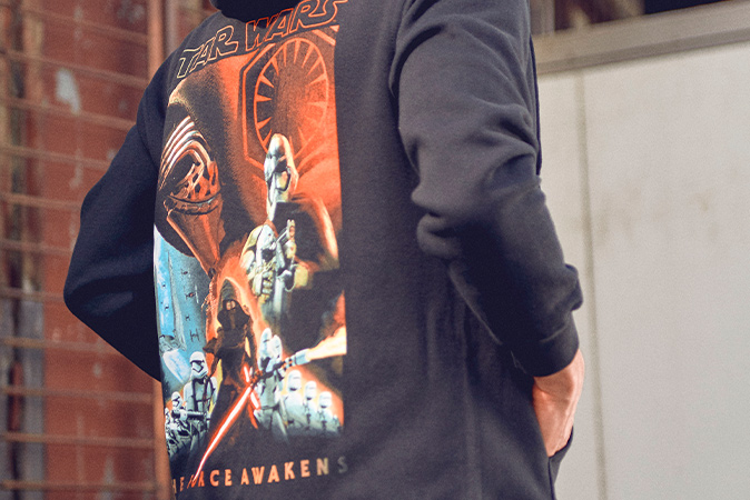 Star Wars - The First Order - Kapuzenjacke