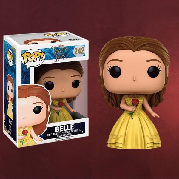 Die Schöne und das Biest - Belle mit Rose Mini-Figur