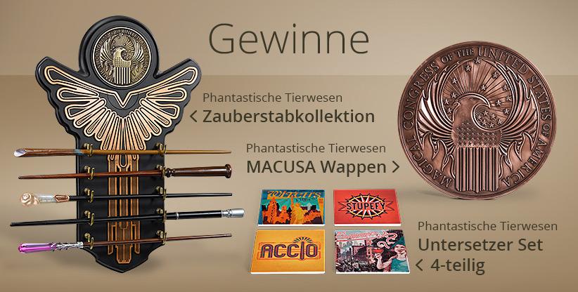 Phantastische Tierwesen-Gewinnspiel im Wert von über 250 Euro!