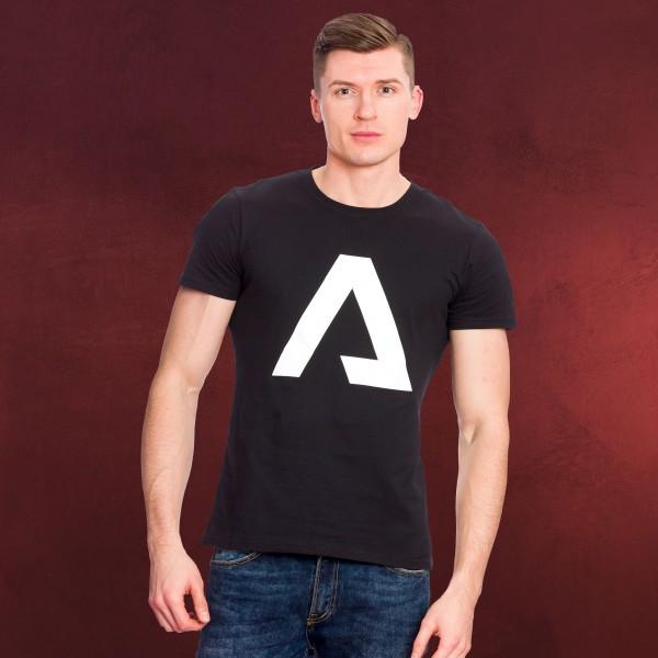 Titanfall - A Logo T-Shirt schwarz