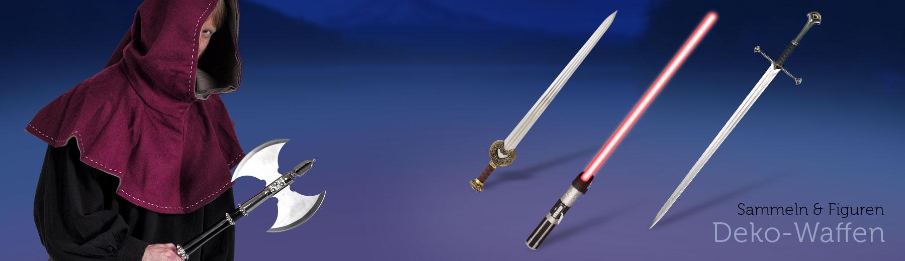 Dekoschwerter & -Waffen