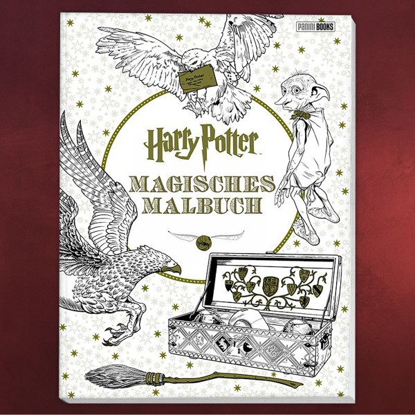 Harry Potter - Magisches Malbuch | Elbenwald