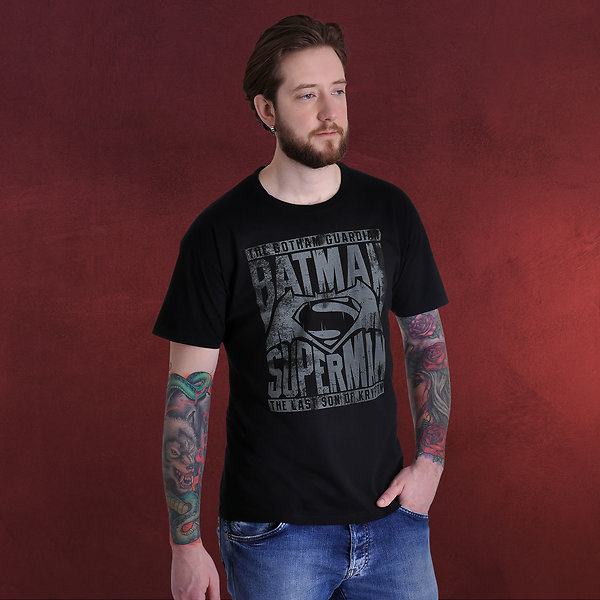 Batman v Superman - Giants T-Shirt schwarz