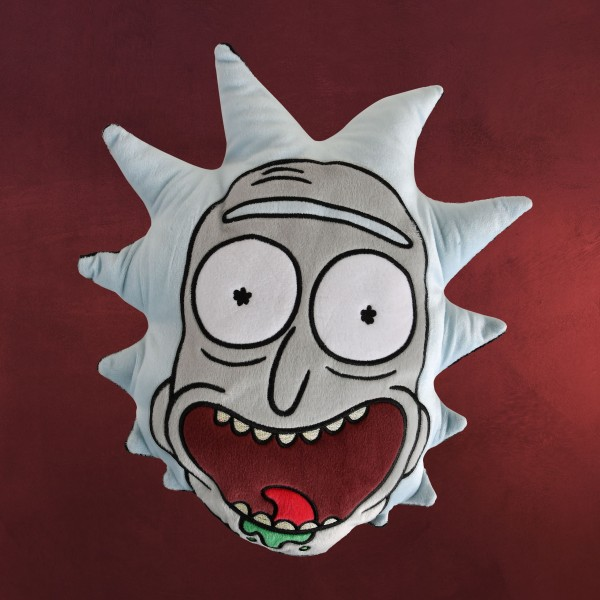 Rick and Morty - Rick Face Kissen