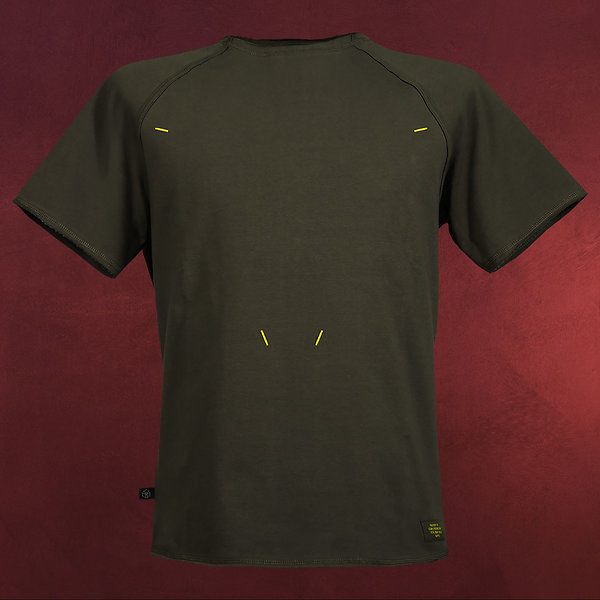 Metal Gear Solid - Stealth T-Shirt oliv