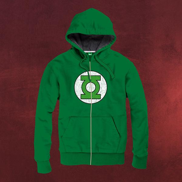 Green Lantern - Logo Kappu-Jacke