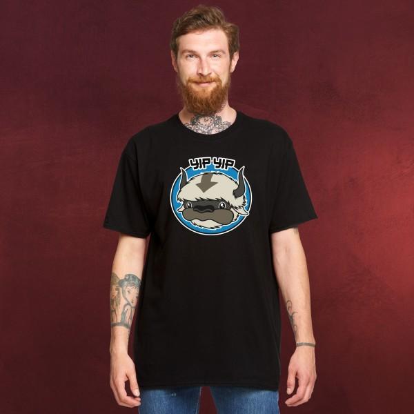 Appa Yip Yip T-Shirt für Avatar Fans schwarz