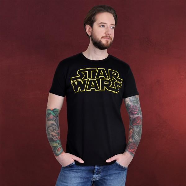 Star Wars - Logo T-Shirt schwarz