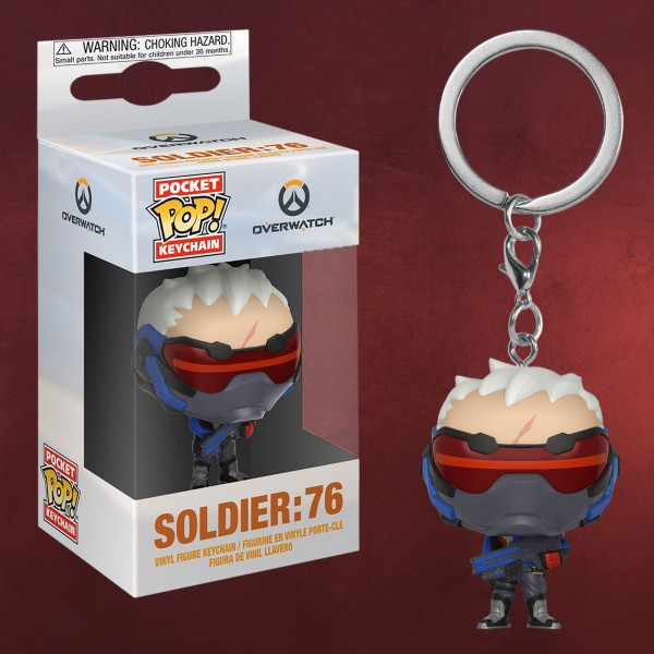 Overwatch - Soldier 76 Funko Pop Schlüsselanhänger
