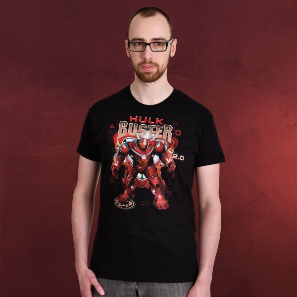 Avengers - Hulkbuster Infinity War T-Shirt schwarz
