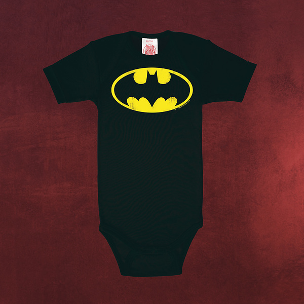 Batman - Logo Baby Body schwarz