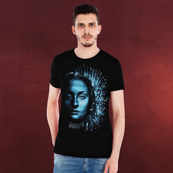 Game of Thrones - Sansa Winter is Here T-Shirt schwarz