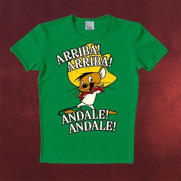 Looney Tunes - Arriba! Andale! T-Shirt grün