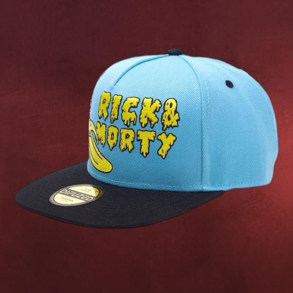 Rick and Morty - Banana Snapback Cap