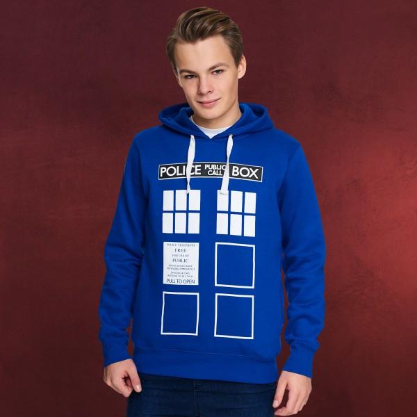 Doctor Who - Tardis Hoodie blau