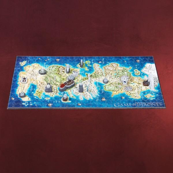 Game of Thrones - Westeros 3D Mini Puzzle