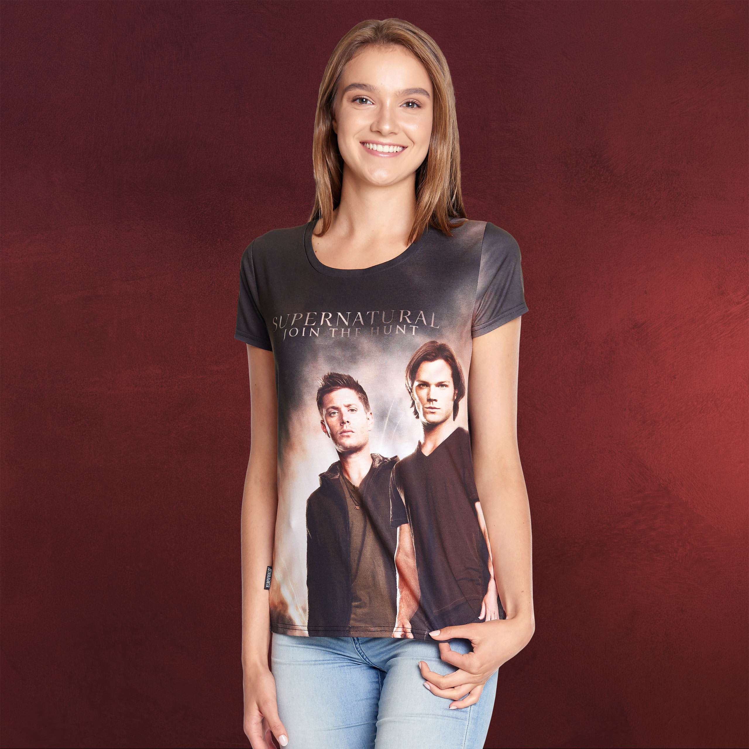 Supernatural Sam Dean T Shirt Damen Elbenwald