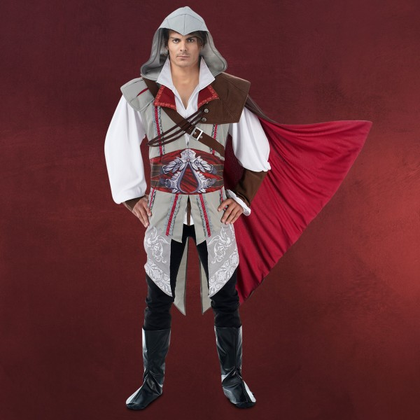 Ezio Herren Kostüm für Assassins Creed Fans