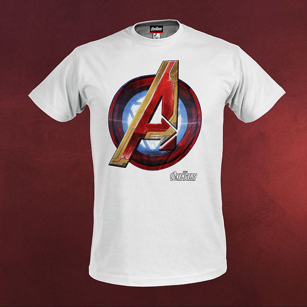 Avengers - Age of Ultron - Iron Logo T-Shirt