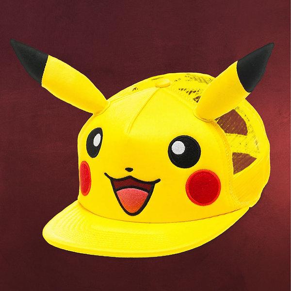 Pokemon - Pikachu Snapback Cap gelb