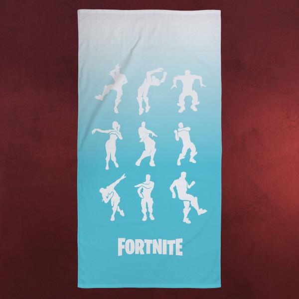Fortnite - Emote Badetuch blau