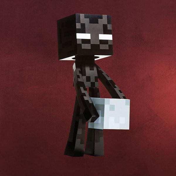 Minecraft -Enderman Figur