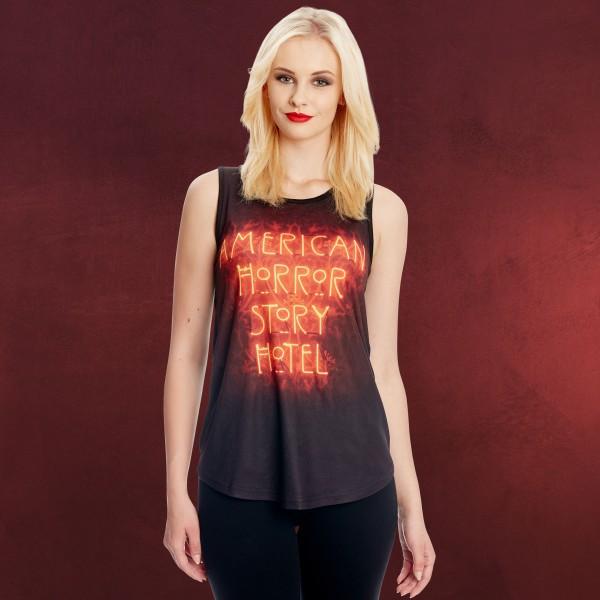 American Horror Story - Hotel Neon Logo Tank Top