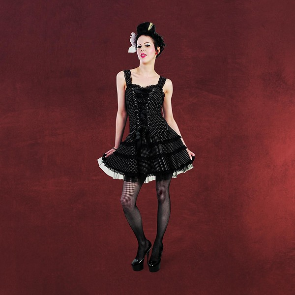 Rockabilly-Kleid Lolita mit Polka Dot Muster