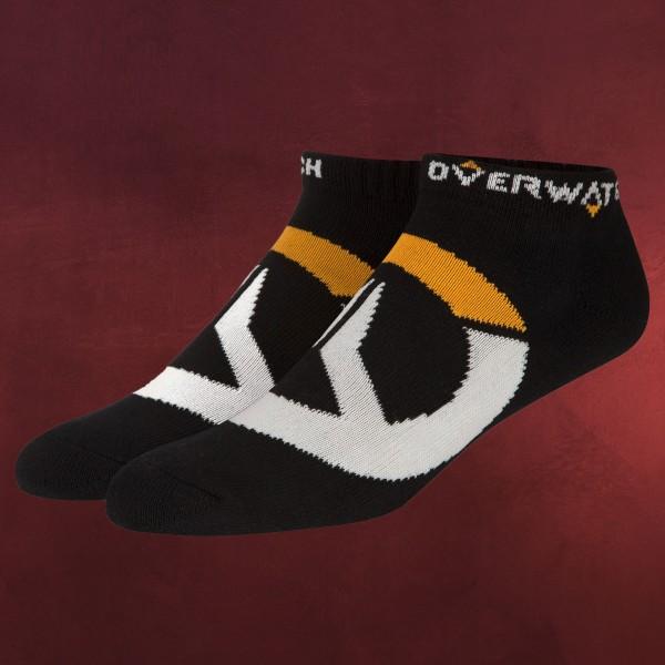 Overwatch - Logo Socken 3er Setschwarz