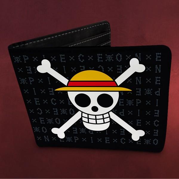 One Piece - Strohhutbande Skull Geldbörse