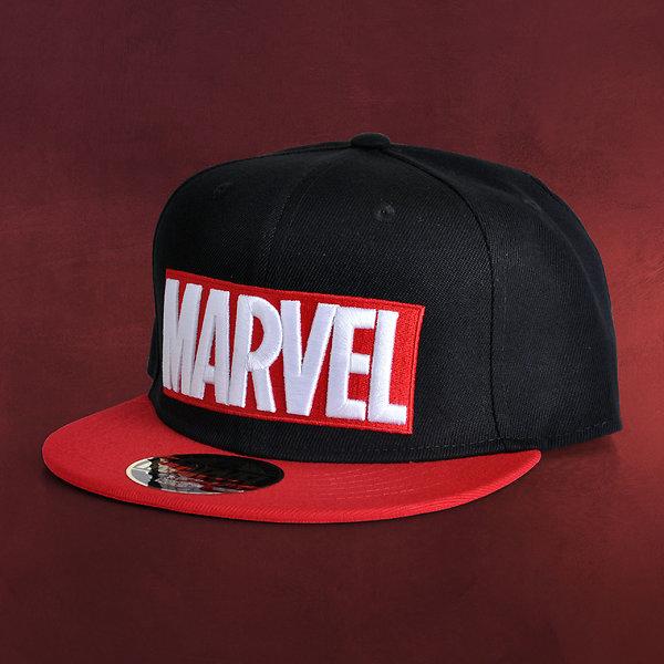 Marvel - Logo Snapback Cap